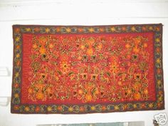 **HAND EMBROIDERY WALL HANGING,RAJASTHANI CRAFT**