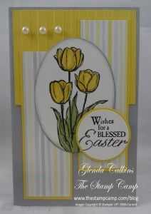 Blessed Easter Skinny card