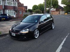 modified black golf gti mk5 - Google Search