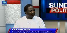 Welcome to Oghenemaga Otewu's Blog: Femi Adesina speaks on the true state of President...