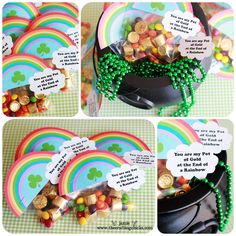 {St. Patrick's Day Lucky Treasure Hunt, Treat Toppers & Free Printables}
