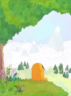 Adventure Time. Hora de aventura.