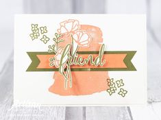 Stampin with Liz Design: Share What You Love - Stampin' Up! Artisan Blog Hop Stampin Up, Gerber Daisies, Scrapbook, Daisy, Artisan, Love, Card Ideas, Promotion, Cards