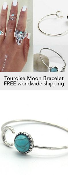 Tourqise Moon Bracelet