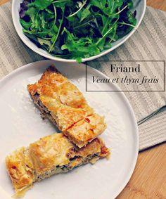 Very Easy...Kitchen: Vintage food : Friand au veau et au thym frais