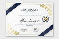 Modern certificate template with flat design Vector Certificate Of Participation Template, Certificate Of Completion Template, Certificate Design Template, Award Template, Gift Card Template, Printable Certificates, Shri Ram Wallpaper, Certificate Background, Powerpoint Design Templates