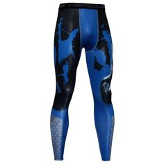 c997f7c3e39f9 Men's Compression Leggings Fitness Pants Long Male Wokout Joggers Colorful  Pattern Tightsmodkily. Workout Pants ...