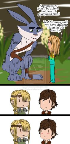Just browsing DeviantART when I suddenly found...this...(MY FEELS) ---- Awwwww! Wouldn't be surprised! And Jamie kinda looks like Hiccup! ^_^