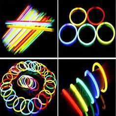 "8"" LumiStick Brand Glowsticks #Glow #Stick Bracelets Mixed Colors (Tube of 100) http://www.amazon.com/Super-Bright-Longest-Lasting-Bracelets/dp/B00NQJ2DBG/ref=sr_1_3?ie=UTF8&qid=1427127696&sr=8-3&keywords=glow+sticks"