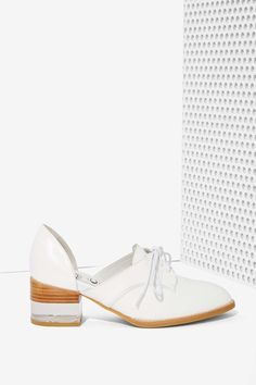 Jeffrey Campbell Radwell Cutout Leather Oxford | Shop Shoes at Nasty Gal