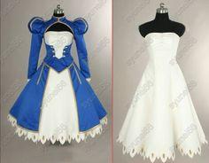 Fate Stay Night Saber Cosplay Costume Custom Any Size | eBay