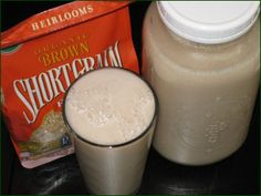 Brown Rice Milk Recipe - Easy and Homemade http://rawglow.com/blog/2013/06/13/brown-rice-milk-recipe-easy-and-homemade/