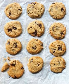 Cashew Butter Cookies (Paleo, Vegan). These require only a handful of ingredients and taste SO good. They almost melt in your mouth!