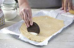 Quero: cortador de massa em formato de biscoito
