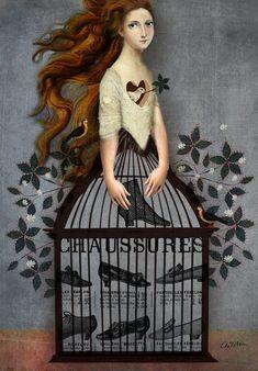 'Cinderella' von Catrin Welz-Stein bei artflakes.com als Poster oder Kunstdruck