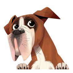 Boxer Dog Car Sticker Decal