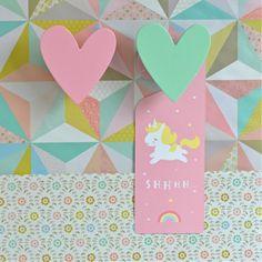 accroche-porte Licorne A little lovely company - deco-graphic.com