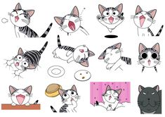 Chi 39 s sweet home gif crazy cat lady pinterest anime kawaii and manga - Chi s sweet home ...