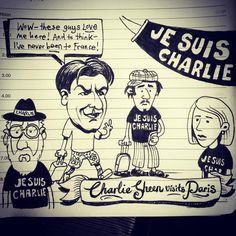 #charliehebdo @charliesheen #JeSuisCharlie #paris #new #now #life #lol #star #tv #television #famous #art #fail #love