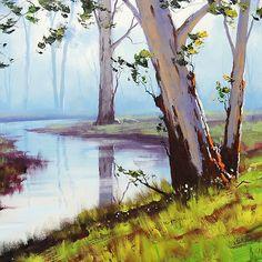 River Gum trees