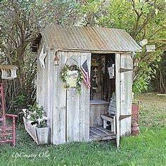 photo of primitive sheds - Yahoo Search Results