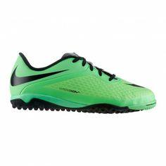 De #Nike Hypervenom Phelon TF 599847 #voetbalschoenen junior zijn perfect geschikt voor kunstgras. De schoenen zorgen voor de benodigde behendigheid door een innovatief noppenpatroon. #dws