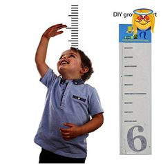 Burlap Growth Chart Ruler MY STORE Pinterest Growth Chart - Make your own decal kit
