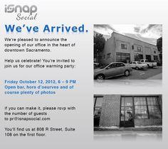 iSnap Social Open House #Sacramento #Event