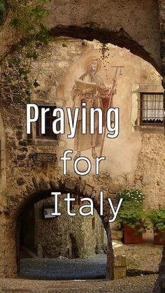 God Bless Italy  Our prayers have been answered. Here is the latest news from Italy. Mamma Mia, Prayers, Blessed, Italy, God, News, Dios, Italia