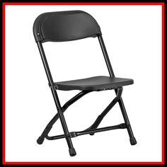 Flash Furniture Kids Black Plastic Folding Chair at Lowe's. Provide kids with seating that was specifically designed for them and can be stored away when no longer in use. This plastic folding chair will make an