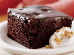 Saucy Chocolate Pudding Cake by Jamie Oliver