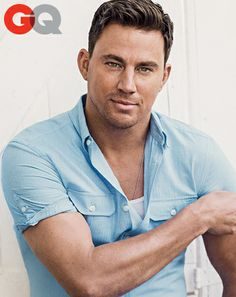 Channing Tatum GQ June 2014...getting better with age! 34 yrs old!♡