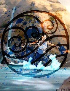 Only the Avatar can master all four elements and bring balance to the world.