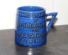 Vintage C.H Brannam / Barnstaple 1937 Coronation Pottery Tankard (VGC) | Pottery, Porcelain & Glass, Pottery, Devon/Torquay Ware | eBay!