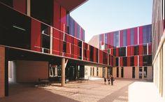 Dormitórios da Universidade St. Edward's (Foto: Cristobal Palma)
