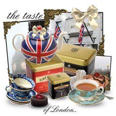 aahhhh an English tea party