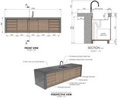 Kitchen Room Design, Kitchen Sets, Kitchen Interior, Kitchen Designs, Kitchen Island, Design Tutorials, Home Design, Kitchen Triangle, Architecture 3d