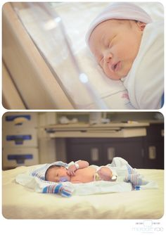 Hospital newborn photography