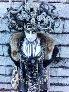 oh, i wish i could swear on this site!!! freaking amazing!!!  Art Deco Medusa - Halloween Costume Contest