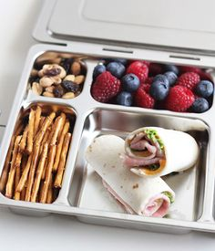 Stainless Steel Bento Box | Pottery Barn Kids