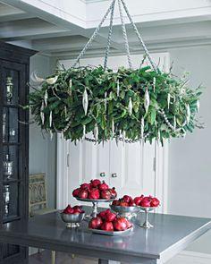 CarolCampeloFestugato: Idéias de decoração de Natal. Pomegranate.