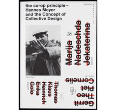 Co-Op Principle: Hannes Meyer and the Concept of Collective Design