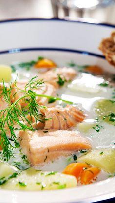 Fish Recipes, Soup Recipes, Swedish Recipes, My Cookbook, Ramen, Nom Nom, Food And Drink, Cooking, Ethnic Recipes