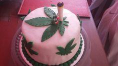 Torta de hoja de marihuana