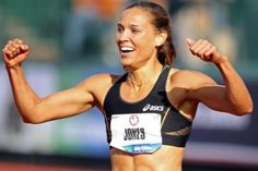 Lolo Jones fought through unfair press to finish 4th. #London2012 #Olympics