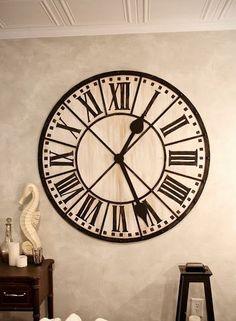 Maak jouw eigen klok #creatief http://blog.huisjetuintjeboompje.be/maak-jouw-eigen-klok/