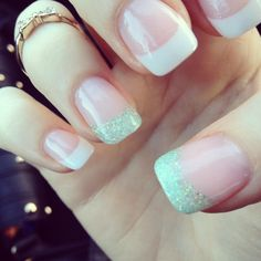 French Nails   See more at http://www.nailsss.com/colorful-nail-designs/2/