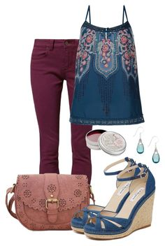 """have a nice day"" by deliag ❤ liked on Polyvore featuring TWINTIP, Monsoon, L.K.Bennett, Jody Coyote and Mullein & Sparrow"