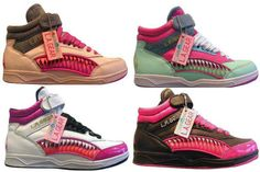 L.A.  Gear shoes of the 90's.... ive been saying i wish they wouldcome back for awhile now .. :) /// freakin awesome