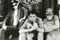 Beastie Boys: Michael (Mike D) Diamond, Adam (MCA) Yauch and Adam (Ad-Rock) Horovitz